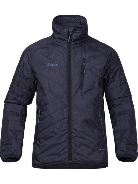 """Bergans Boys Josten Lt Insulated Jacket Night Blue/Dark Navy/Steel Blue"""